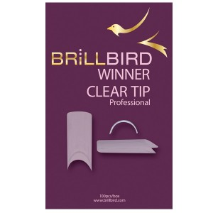 WINNER CLEAR TIP 50 pièces Taille 8