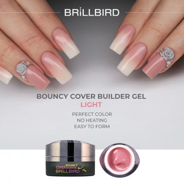 BOUNCY COVER BUILDER LIGHT 5ml Gel de construction