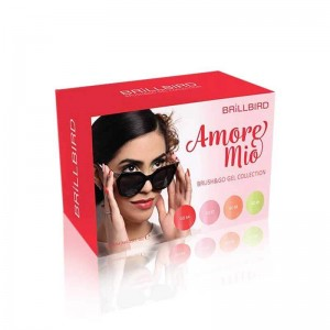 KIT AMORE MIO BRUSH&GO 4 x 4,5ml