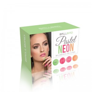 KIT PASTEL NEON BRUSH&GO 4 x 4,5ml