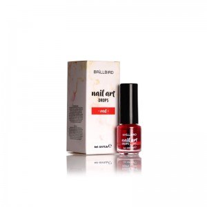 NAIL ART DROP ROUGE