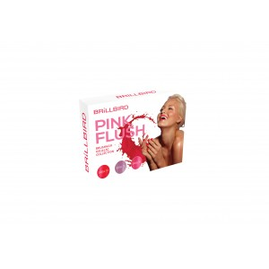 PINK FLUSH BRUSH&GO GEL&LAC 3 x 5ml