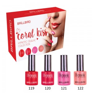 KIT CORAL KISS 4 x 4ml